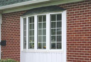 Fen tre bais arche nordik 1 portes et fen tres verdun - Fenetre baie window ...