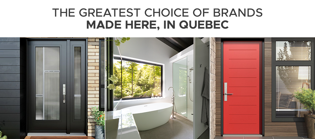 Doors made in Quebec